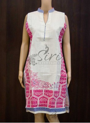 Simple Cotton Kurti with Lining