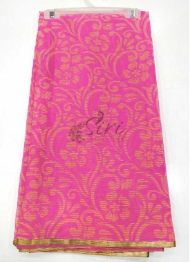 Simple Printed Fancy Chiffon Saree