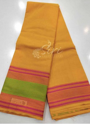 Simple Pure Kanchi Cotton Saree