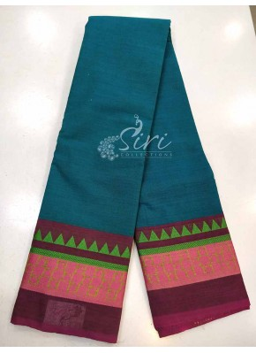 Simple Pure Village Cotton Saree