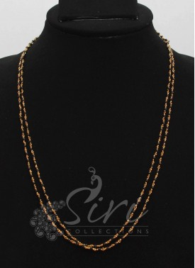 Simple Two Step Spinels Mangalsutra