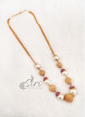 South Sea Pearls Alike Beads Fashion Jewellery Cha