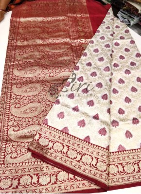 Traditional Pure Authentic Banarasi Katan Silk Saree