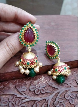 Trendy Designer Jhumkis Earrings