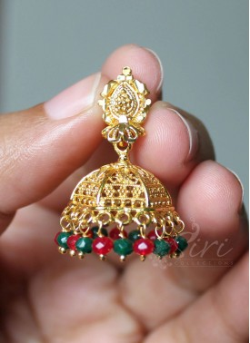 Umbrella dome shaped Jhumkis